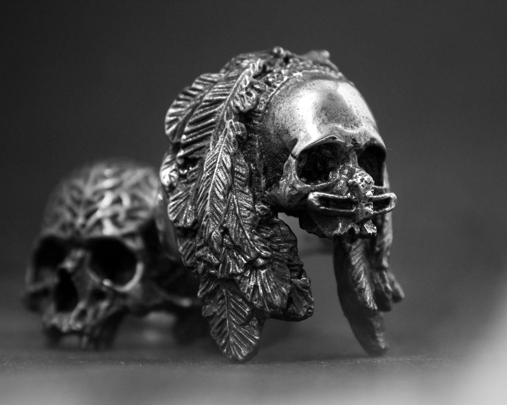 Indonesian Tribe Jewelry series by ironclanmetal