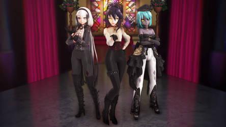 TDA Manzura, Alice and Tialis (Models DL) by Tamiris98