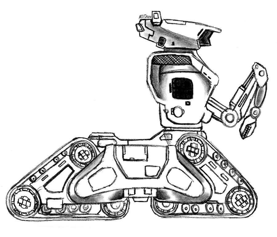 Terminator HK Robot Tank By MDTartist83 On DeviantArt