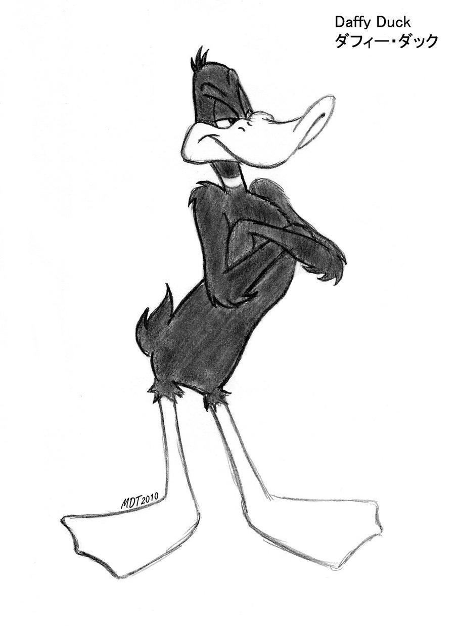 Daffy Duck by MDTartist83 on DeviantArt
