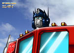 Optimus Prime - Colorized