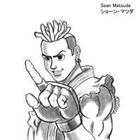 Street Fighter III - Sean by MDTartist83