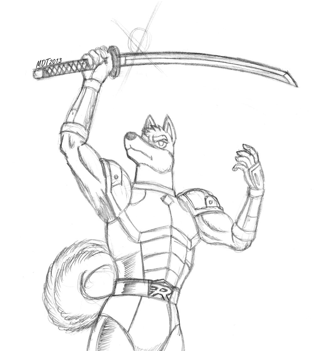 It is a picture of Gutsy Sword Poses Drawing