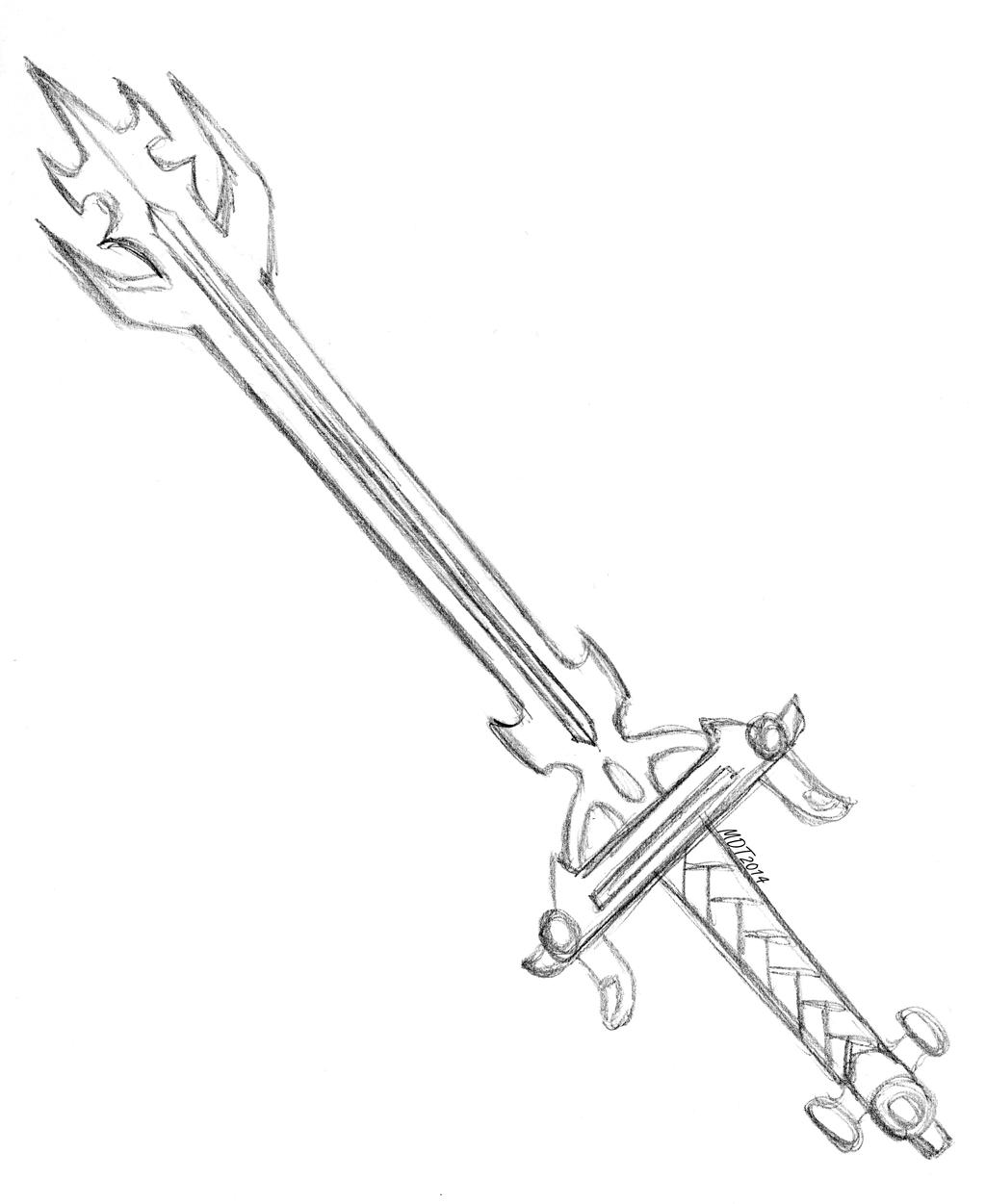 Lion Voltron's Sword by MDTartist83 on DeviantArt