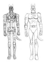 Dynomutt Anatomy by MDTartist83