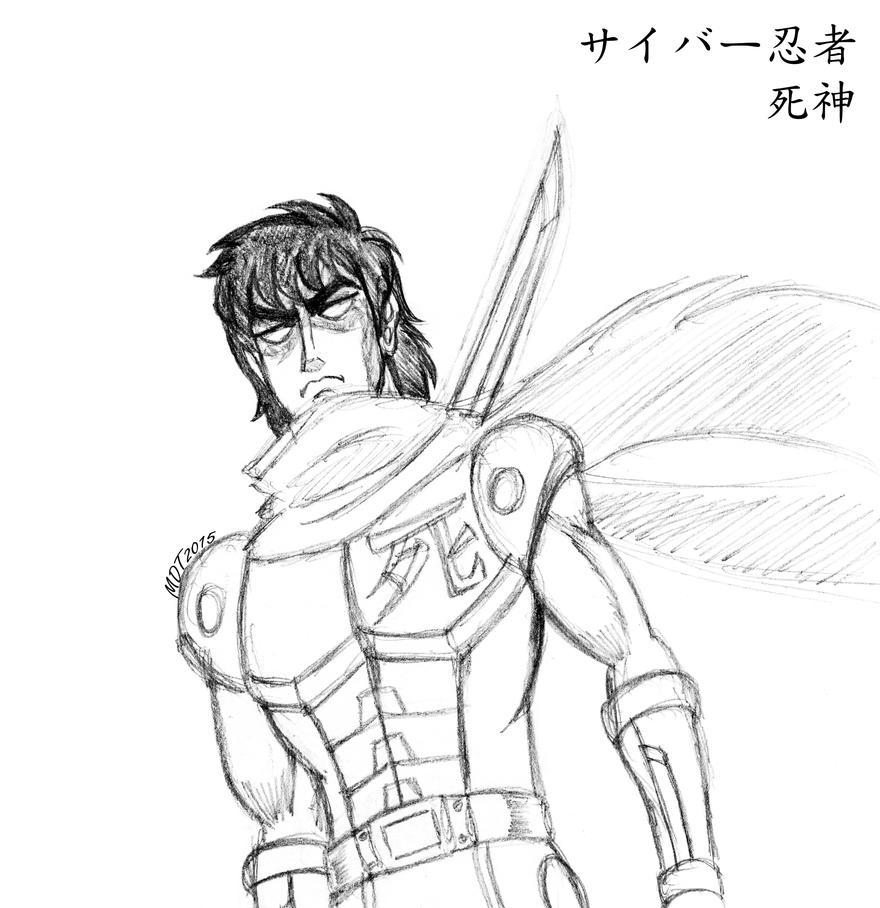 Shinigami the Cyber Ninja by MDTartist83
