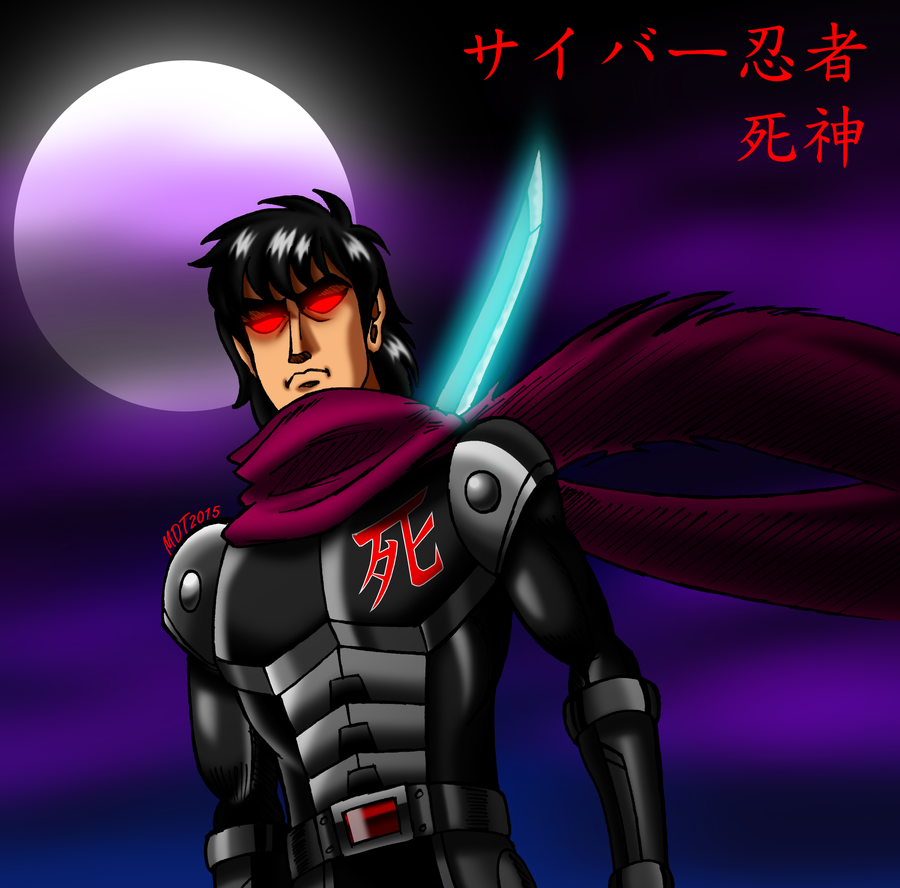 Cyber Ninja Shinigami (Finalized) by MDTartist83