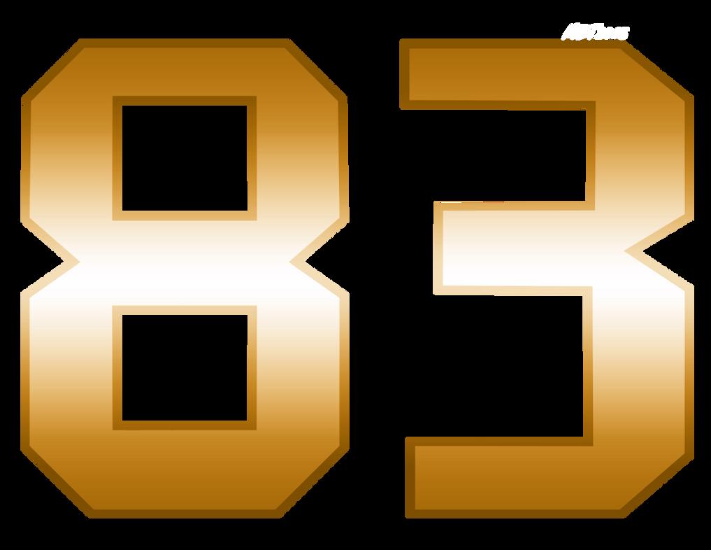 Number 83 by MDTartist83
