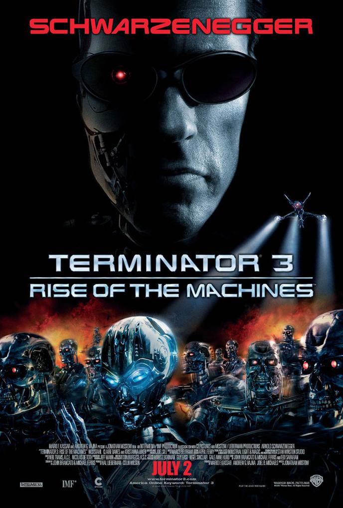 Terminator 3 Poster by MDTartist83