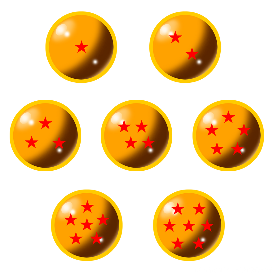 7 dragon balls pnga