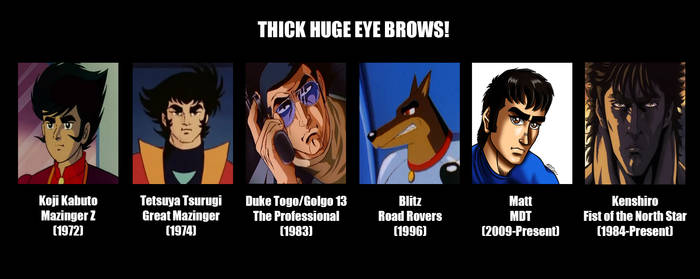 Thick Huge Eye Brows