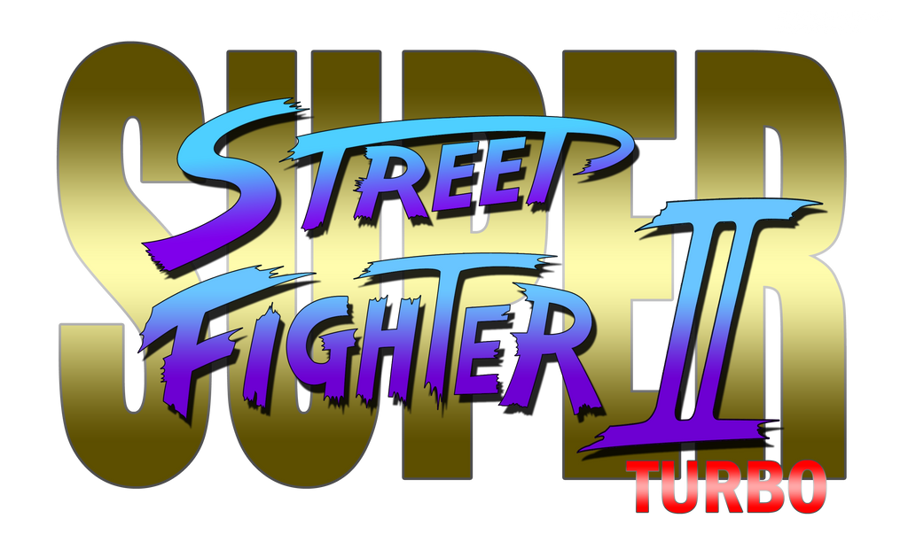 how to create the street fighter logo