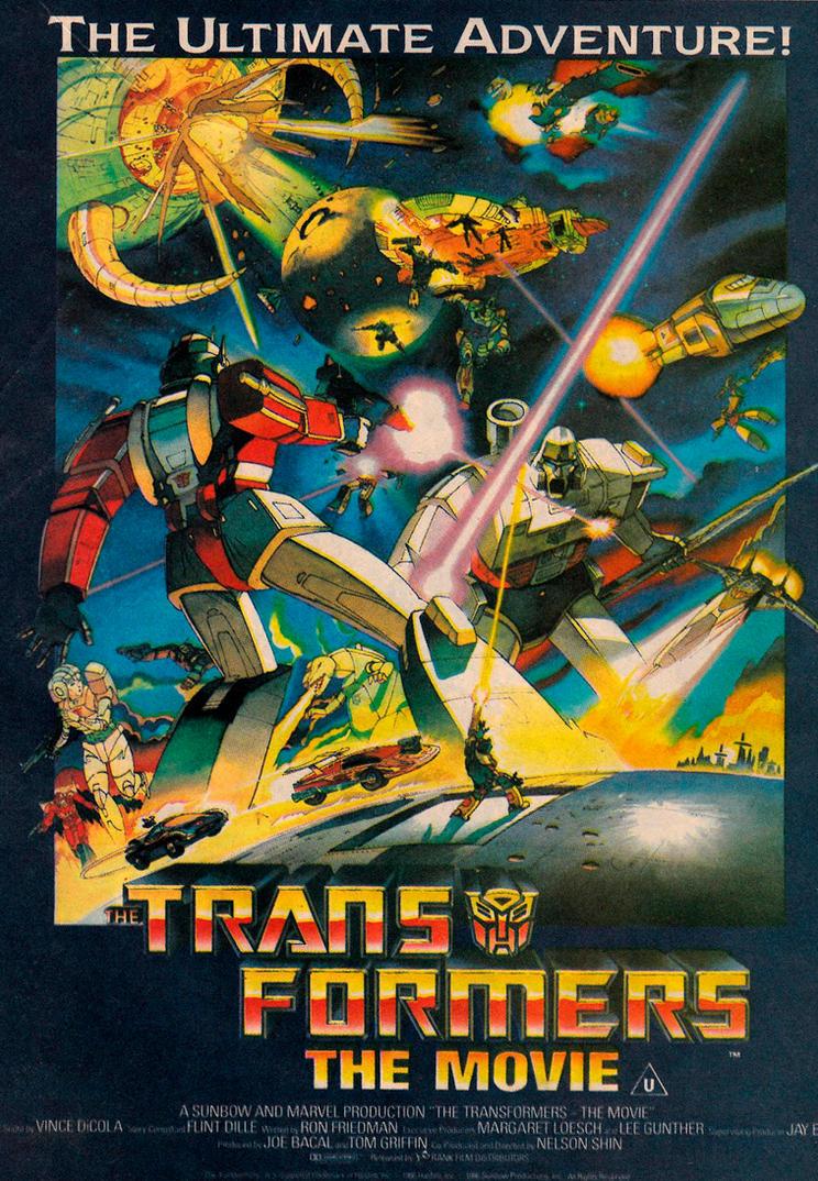Transformers UK Poster by MDTartist83