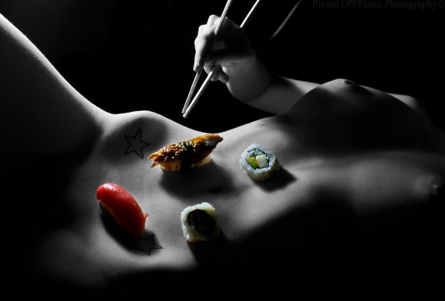 Naked Sushi 2 by michaelaaronphoto