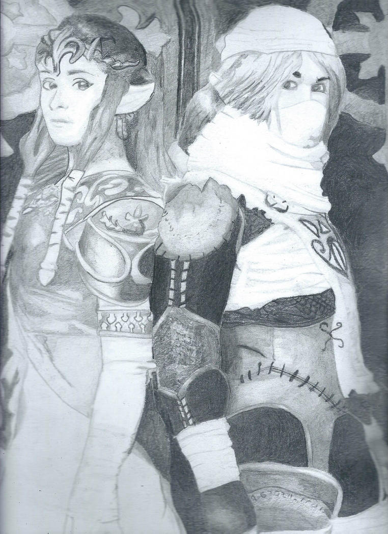 Zelda/Sheik by FunkyChunky00