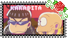 Karamatsu and Chibita - Stamp by StampGalaxy