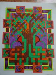 Celtic Mosaics VII - Tree