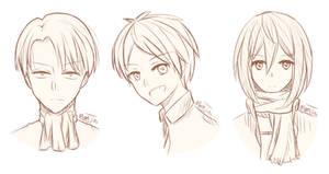 SNK sketches
