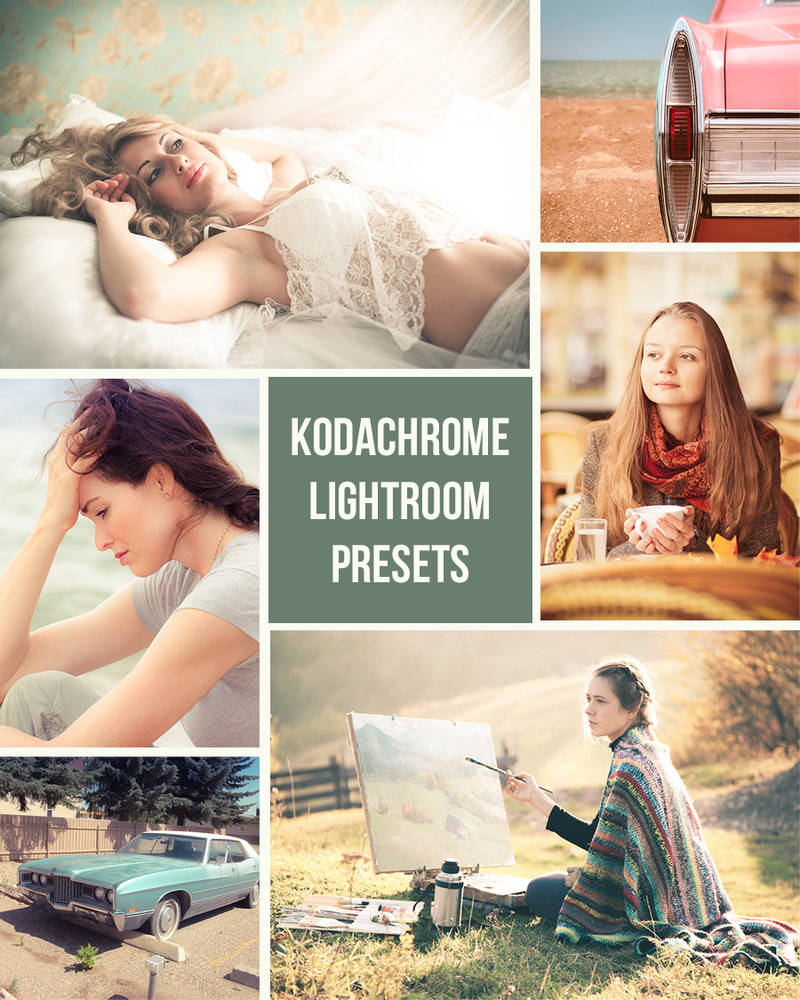 Kodachrome Lightroom Presets by presetsgalore on DeviantArt