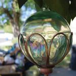 Iridescent Glass Globe