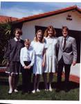 1980s Family Outside