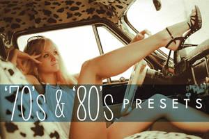 70s 80s Retro Lightroom Presets