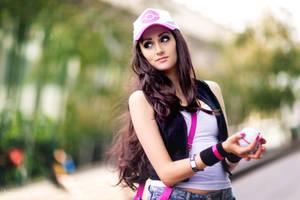 Pokemon Trainer Hilda by Lanz90BH