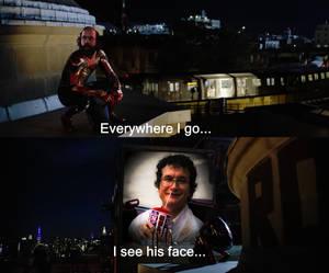 Everywhere I go I see his face... ST S3 Alexei