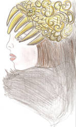 golden diadem by ishil