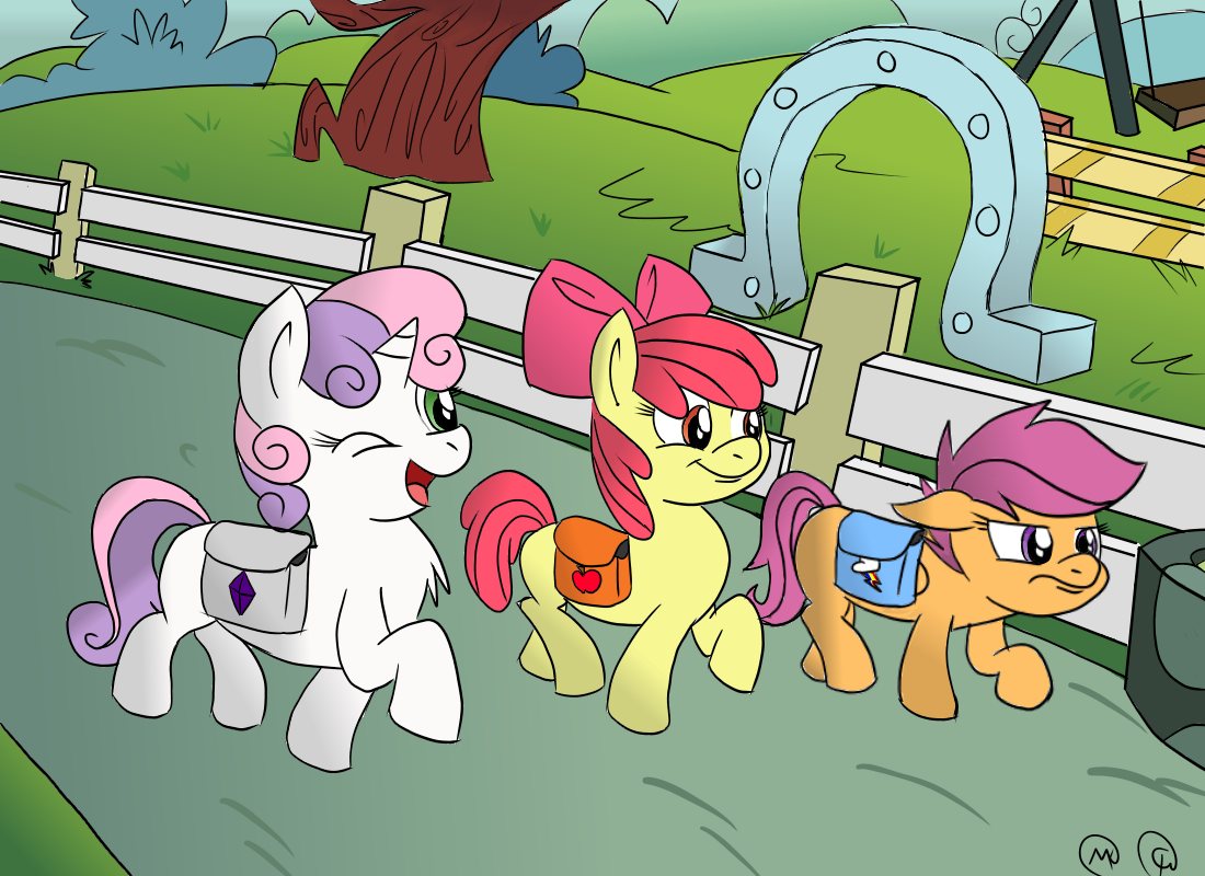 Back to School ~ CMC by MarioKid97