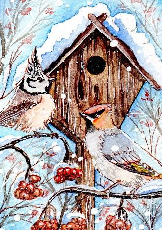 Wintertime by DasFarbspiel