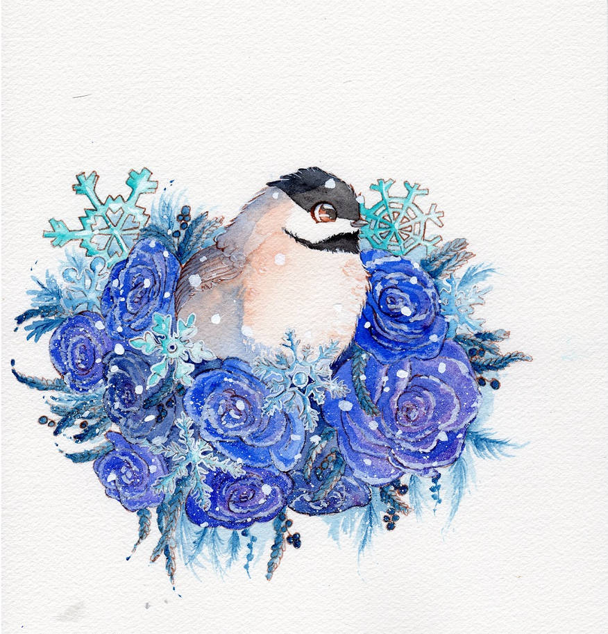 Frosty bouquet by DasFarbspiel