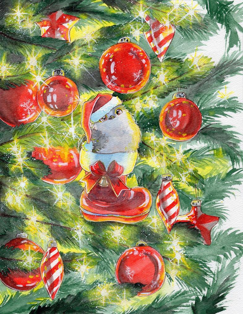Christmas sparkles by DasFarbspiel