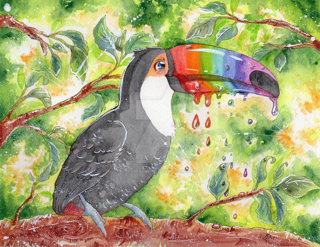 Rainbow Melt by DasFarbspiel