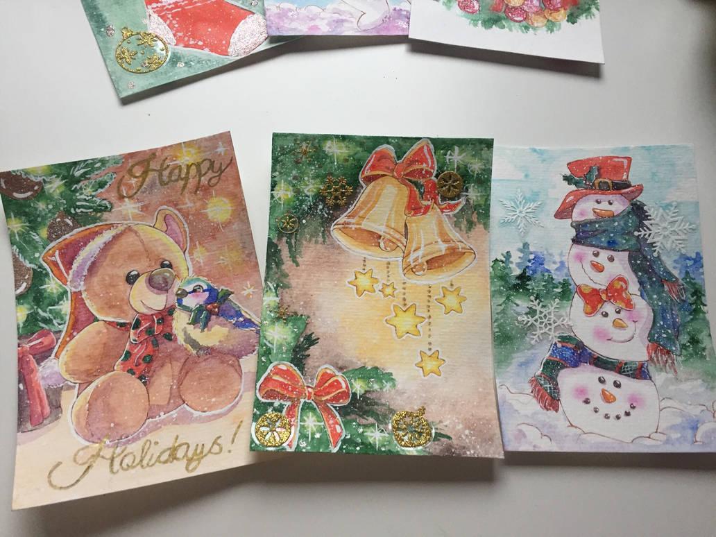 Holiday Card Project by DasFarbspiel