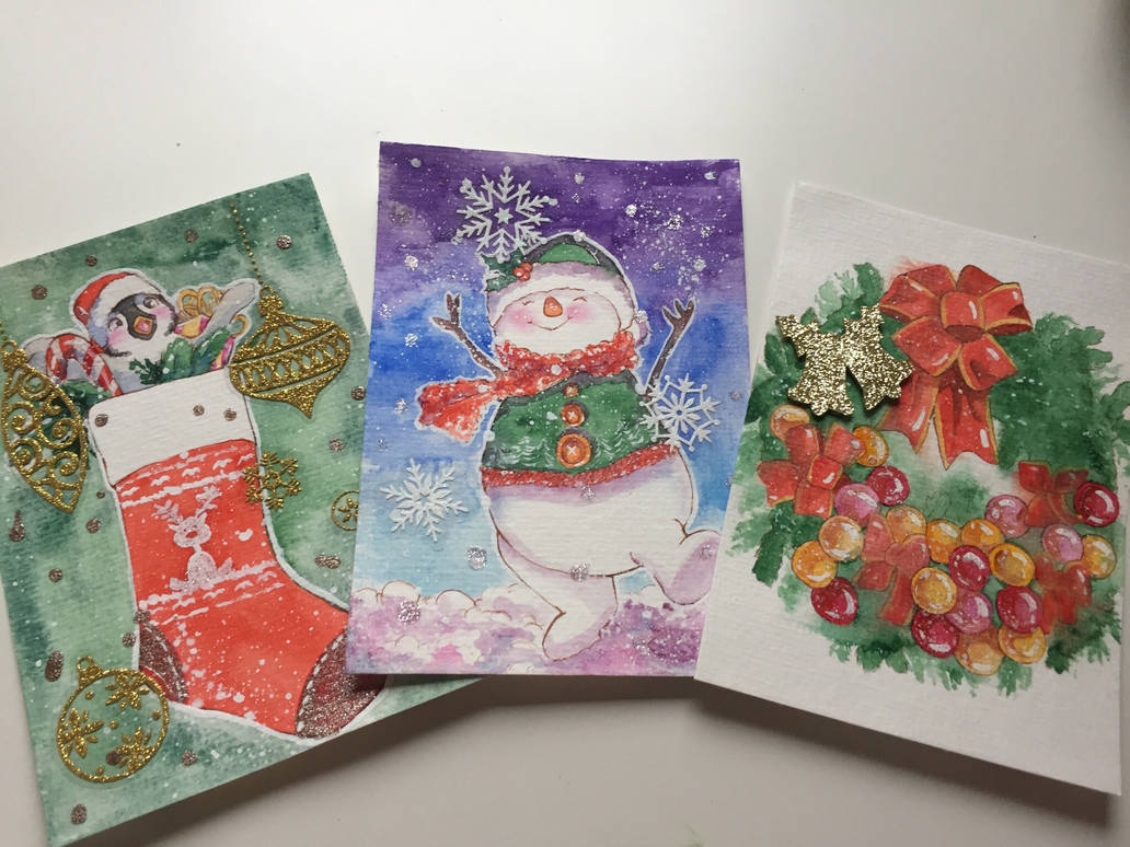 Holiday Card Project (Part 2) by DasFarbspiel