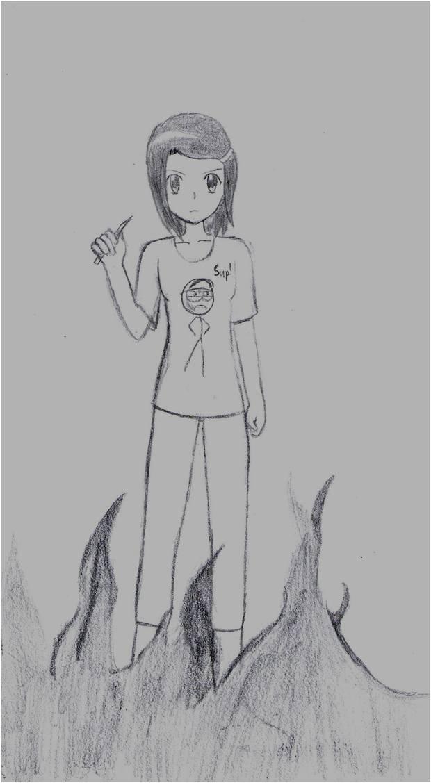 Emerge (sketch) by Sofiathefirst
