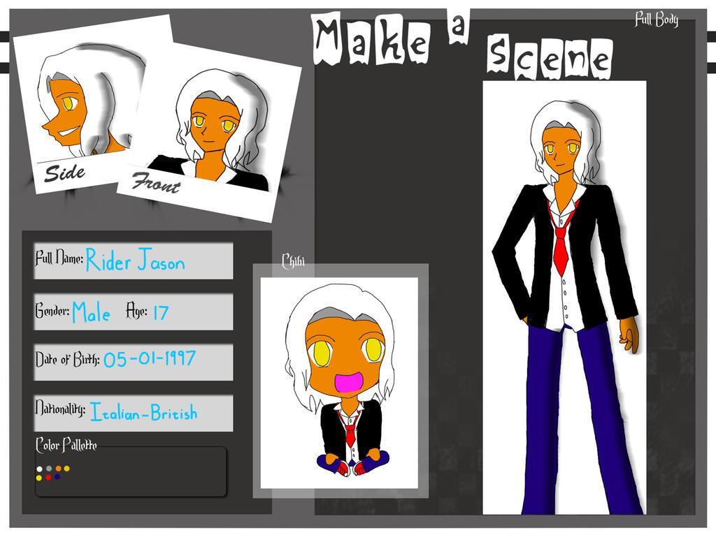 Jason Rider MAS app by Sofiathefirst