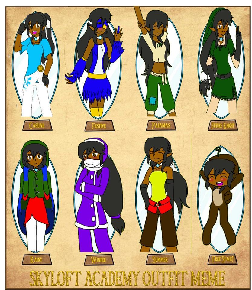 Zari's outfit meme by Sofiathefirst