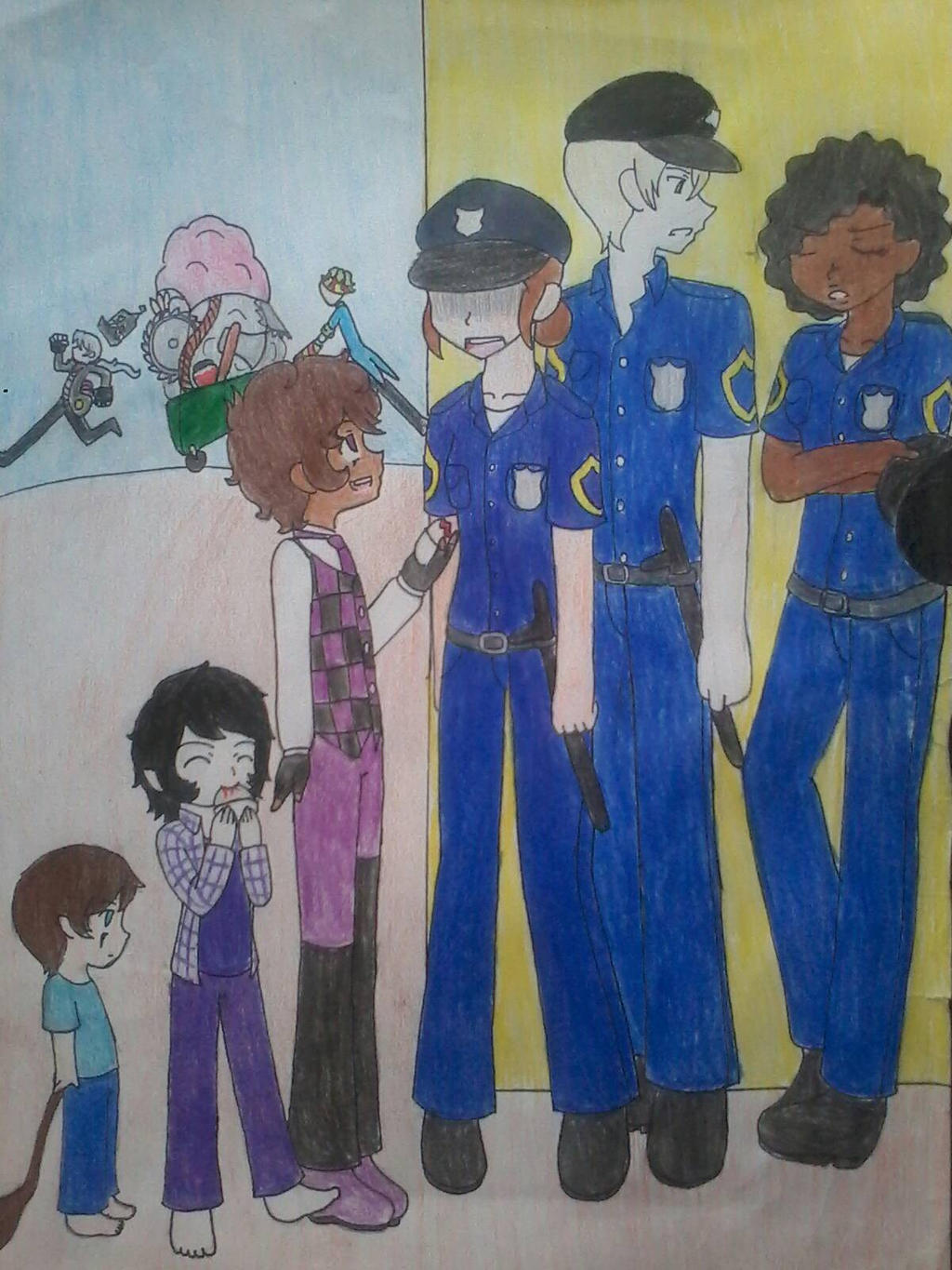 16. Stop The Police!  by Sofiathefirst