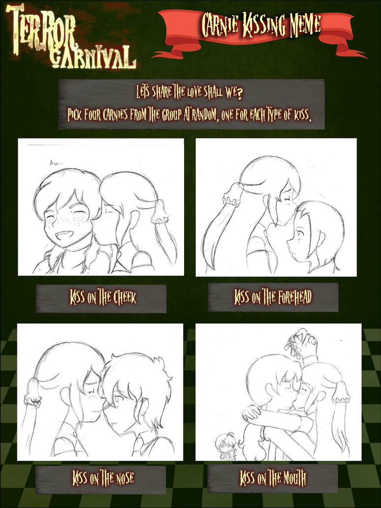 Nora's Kissing Chart by Sofiathefirst