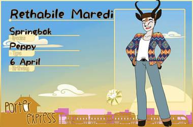 Porter Express: Rethabile Maredi  by Sofiathefirst