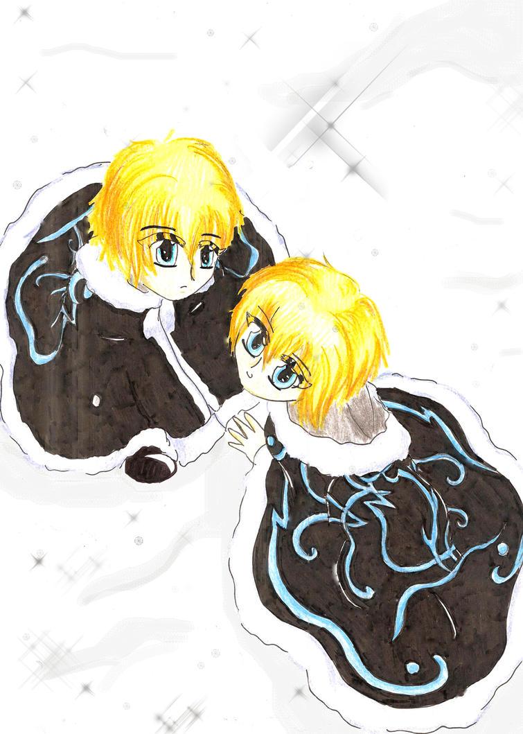 Fai and Yuui by PriscyBaeta