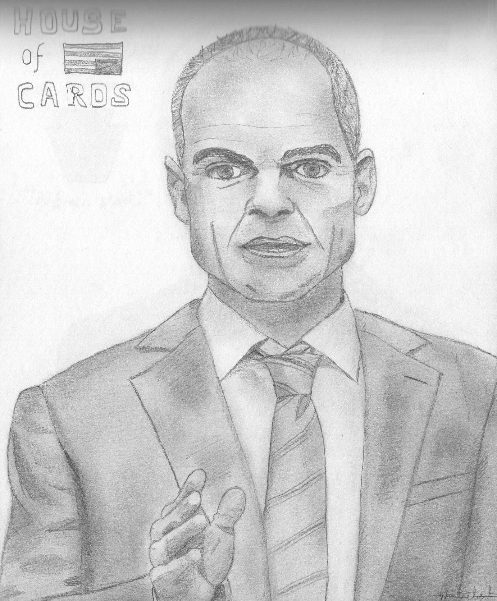 House Of Cards _ Doug Stamper (Michael Kelly) By ArthurWtb