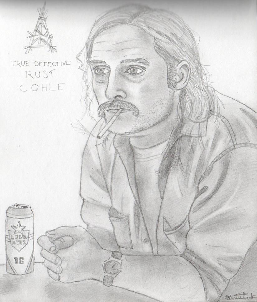 True Detective _ Rust Cohle (McConaughey) by ArthurWtb
