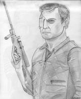 The Walking Dead _ Governor (David Morrissey) by ArthurWtb