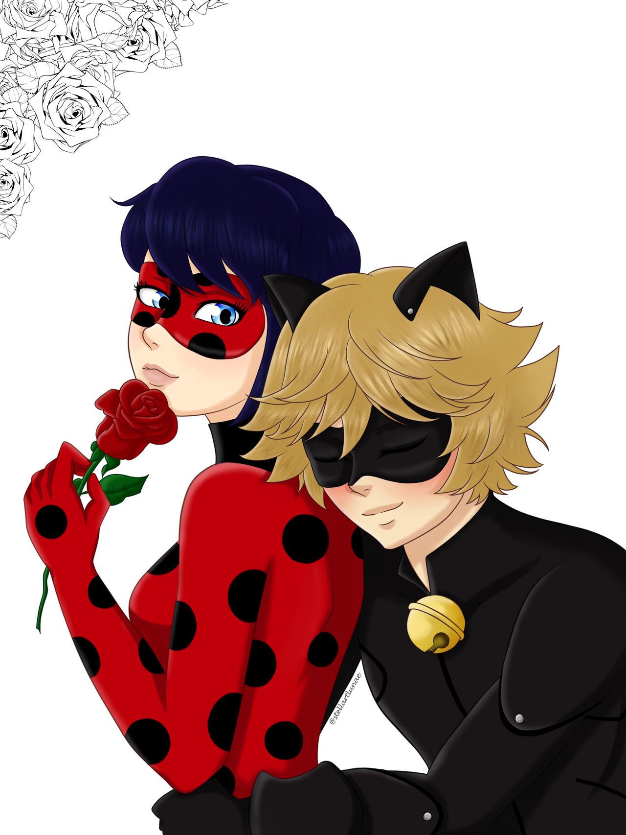 Ladybug chat lemon x noir Chat Noir