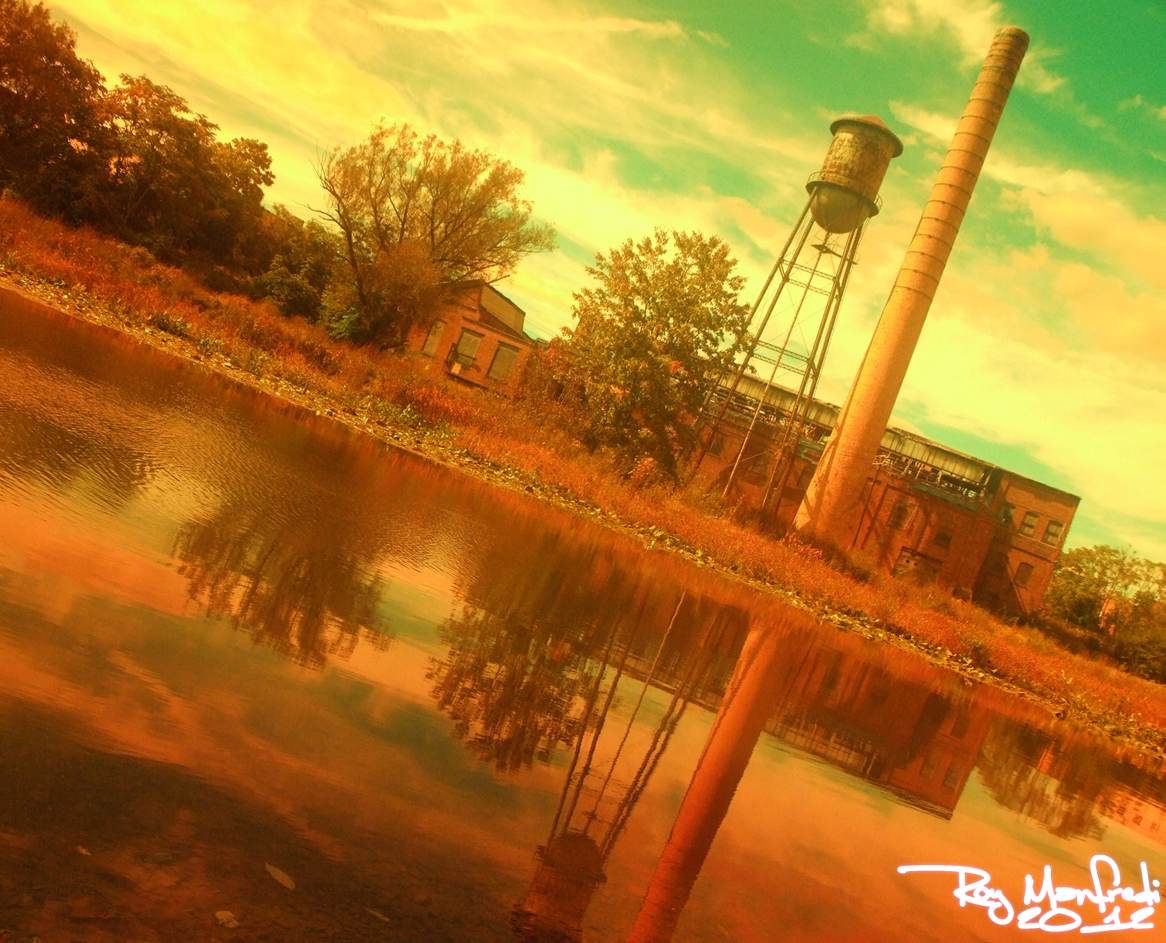 Old Tire Factory by roymanfredi