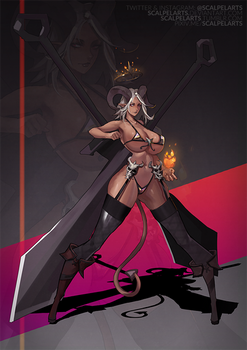 CLOSED Adoptable #78: Demon Warrior