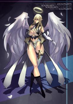 CLOSED Adoptable #81: Angelic Warrior